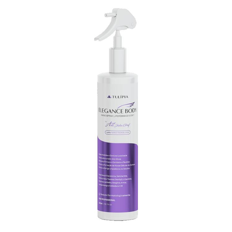 Elegance Body Nano Spray Lipotérmico 5 em 1 300ml