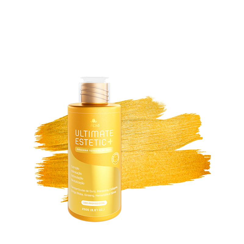 Ultimate Estetic+ Máscara Tensora de Ouro 250ml