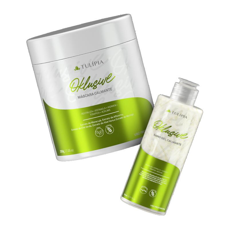 Kit Oklusive Calmante Máscara e Gel 2 produtos