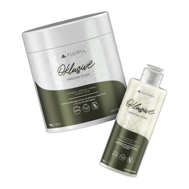 Kit Oklusive Detox Máscara e Gel 2 produtos