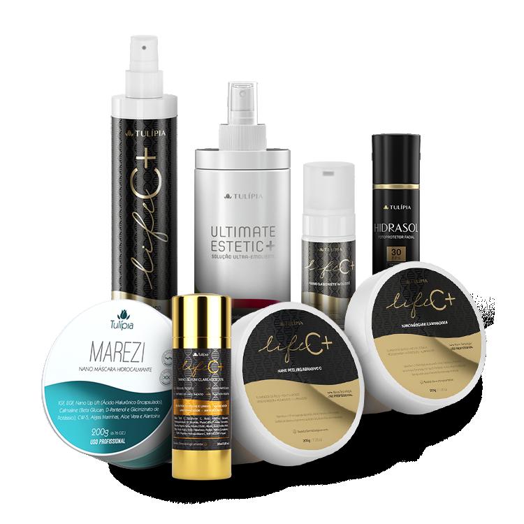 Esteticista Premium Kit 7 produtos