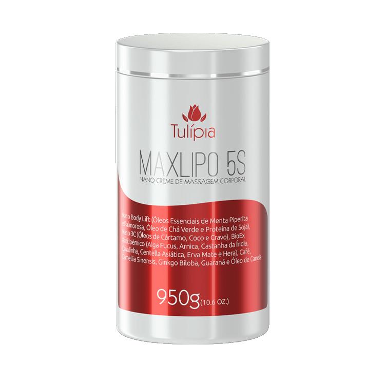 Maxlipo 5S Nano Creme de Massagem 950g