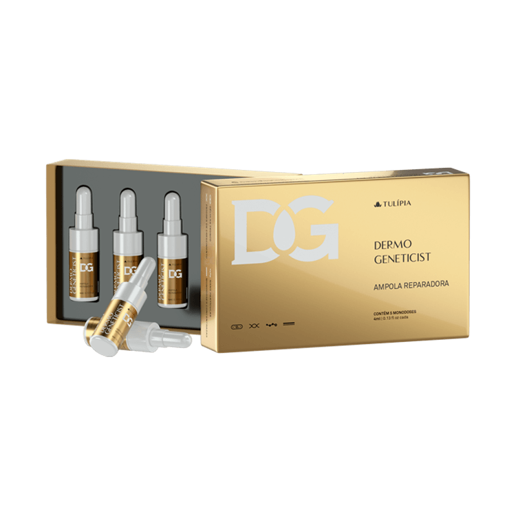 Dermo Geneticist Ampola Reparadora 4ml - 5 ampolas