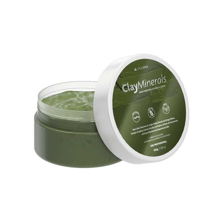Clay Minerals Nano Máscara de Argila Verde 200g
